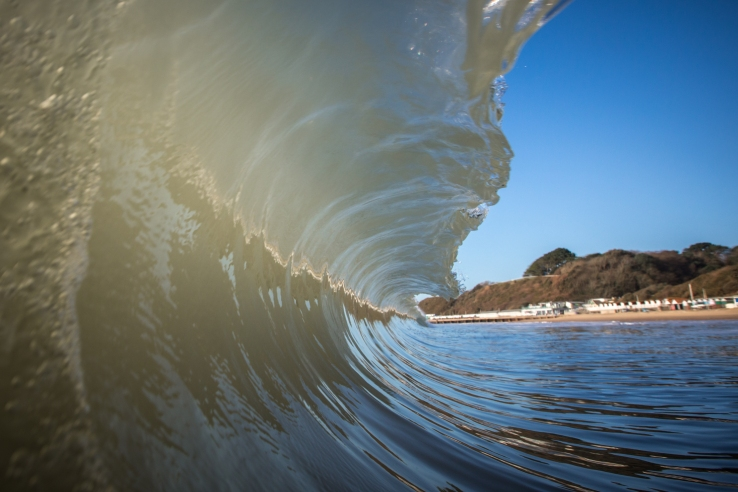 Jake Moore Photography - Bournemouth surf Winter waves (1)